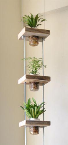 Een leuke woondecoratie: de hangende bloempot. In een handomdraai zelf gemaakt. Libelle laat zien hoe.