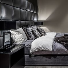 Bedden   Tofliving.nl Home Decor Bedroom, Diy Home Decor, Master Bedroom, Home Interior Design, Interior Architecture, Home And Deco, House Rooms, My Dream Home, Decoration