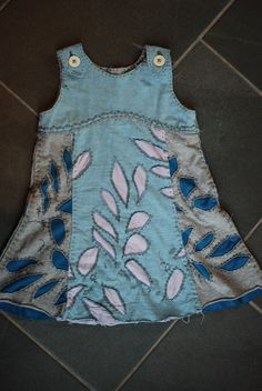 customizing with oliver + s: tea party sundress, Alabama Chanin style | Blog | Oliver + S