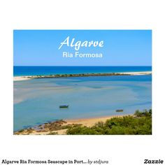 Shop Algarve Ria Formosa Seascape in Portugal Postcard created by stdjura. Ria Formosa, Algarve, Portugal, Beach, Water, Photography, Outdoor, Beautiful, Gripe Water