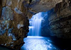 The mystical Smoo Cave. - (explore your biking wanderlust on… Scotland Tours, Scottish Highlands, Day Tours, Mystic, Scenery, To Go, Explore, Places, Pictures