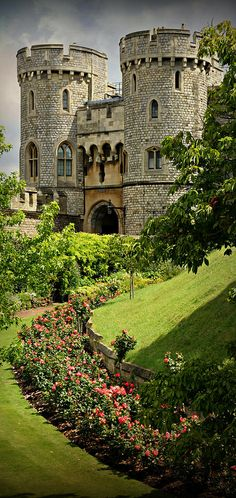 Windsor Castle, Berkshire England.   The original castle was built in the 11th…