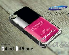 nail solour rose exuberant chanel for iPhone 4/4s,5/5s,5c, Samsung galaxy s3,s4,s5, Galaxy note 2,3