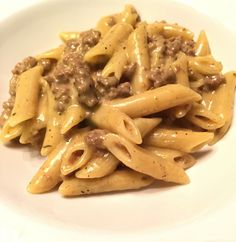 This easy hamburger pasta dinner is delicious and fast copycat Hamburger Helper meal.