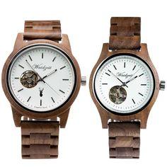 Drevené hodinky pre páry so Zľavou a s dopravou ZDARMA – waidzeit.sk