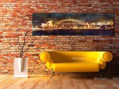 Sydney on canvas by bimago.com, bimago.de !!