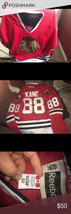 Patrick Kane Blackhawks Jersey Worn only a handful of times. Great condition! Reebok Other