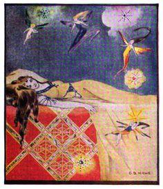 Sleeping Beauty -- G. B. Hawe -- Fairytale Illustration
