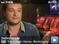 The Hunger Games: Mockingjay - Part 1 Interview (Josh Hutcherson)  | After Katniss Everdeen shattered the games forever, Katniss must fight against all odds and save a nation moved by her courage.