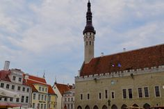 Tallinn, the gem of the Baltic: one day trip from Helsinki — ARW Travels One Day Trip, Cities In Europe, Back In Time, Town Hall, Helsinki, Old Town, Finland, Past, Cathedral