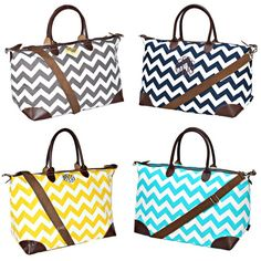 """LD Bags original design personalized just for you from Lila Janes. These bags are made with durability and convenience in mind. Made from durable nylon with faux leather appointments and 8"""" carry handles these bags also include a comfortable shoulder strap. Our personalization options make these a great gift for a bridesmaid, teacher, family member and for you."""