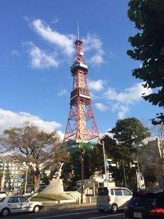 北海道、札幌、テレビ塔。