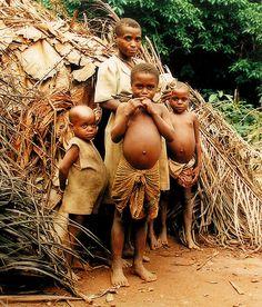 Baka Pygmee, Republic of Cameroon   (photo taken 1986)