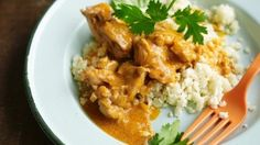 Pete Evans' paleo butter chicken with cauliflower rice