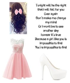 """""""Fall For You"""" by alligatormarie ❤ liked on Polyvore featuring Nly Shoes, lyrics, secondhand, fallforyou and Serenade"""