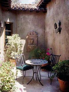 Toscana -  patio interior