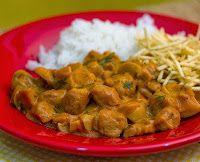 Cantinho Vegetariano: Estrogonofe de Proteína de Soja (vegana)