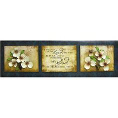 I Will Say Wood Wall Decor with Metal Flowers | Shop Hobby Lobby