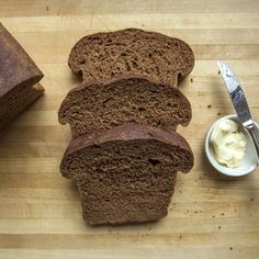 Food & Wine's pumpernickel bread is perfect for sandwiches. Get the recipe at Food & Wine. Pumpernickle Bread Recipe, Wine Recipes, Cooking Recipes, Coffee Recipes, Rye Bread Recipes, Sandwiches, Brown Bread, Bread Baking, Foods