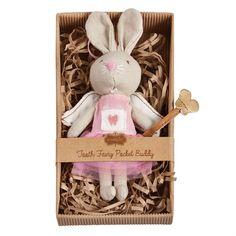 Mud Pie Mini Tooth Fairy Bunny Pocket Buddy $13.95
