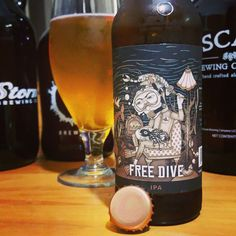 Free Dive IPA by @coppertailbrewing in Tampa FL. Citrus and piney in flavor with medium IBU's. Enough hops to satisfy me and I have yet to even remotely dislike anything that I have tried from them. They really are brewing fantastic beer. 4.6/5 #drinklocal#beeriswonderful#floridacraftbeer#floridabeer#instabeer#beer#beerporn#hooraybeer#craftbeerlife#craftbeer#craftbeerporn#properglassware#beergeek#beeradvocate #beersnob #brewhead #brewheads #brewnerd #craftnotcrap #ipa #beerstagram #hops…