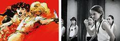 Natasha Romanoff, Dottie Underwood || The Red Room || AC 1x05 The Iron Ceiling; Marvel 616|| 500px x 170px || #animated #comics #coloredit