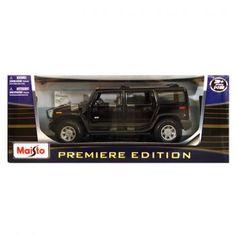 Maisto Hummer H2 Suv 2003 Model Araba 1:18 Premiere Edition Siyah