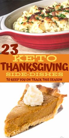 Keto side dishes perfect for Thanksgiving! Keep your diet on track this holiday season with these low carb sides. From low carb pumpkin pie to keto cauliflower au gratin, find all of your keto thanksgiving recipes right here! Low Carb Lunch, Low Carb Keto, Low Carb Recipes, Keto Meal, Lchf, Keto Foods, Keto Snacks, Thanksgiving Side Dishes, Side Dishes