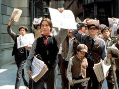 Newsies! Christian Bale singing and dancing through the streets of New York City? Doesn't get much better than that...