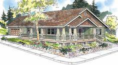 Karsten 30-590 - Narrow Lot Home Plan from Associated Designs