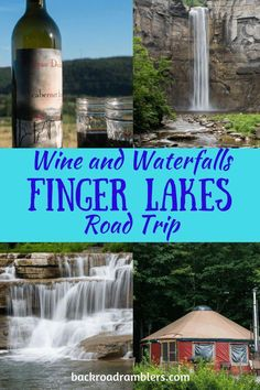 This beautiful New York road trip is great for exploring Finger Lakes waterfalls and wineries - five days of wine sipping, gorge hiking and beautiful Finger Lakes camping at the end of it all. Lake Camping, Camping And Hiking, Camping List, New York Travel, Travel Usa, The Places Youll Go, Places To Go, Finger Lakes Wineries, Costa