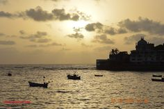 Golden Dusk at Haji Ali, Mumbai - Images of India
