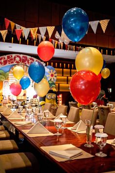 Guest Tablescape from a Minions in Egypt Themed Birthday Party via Kara's Party Ideas | The Place for All Things Party! KarasPartyIdeas.com (23)