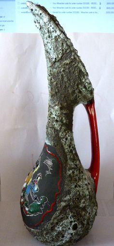 San Marino - Lava glaze pitcher by Marmaca