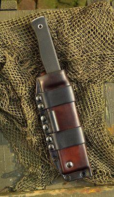Sheaths for Knives: Technical Bushcraft Sheath