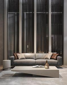 Rectangular MDF coffee table KOBE By Piet Boon design Piet Boon