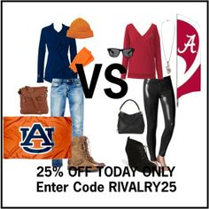 Auburn vs. Alabama | Rivalry SALE | www.meeshandmia.com | Use code: RIVALRY25 at checkout!