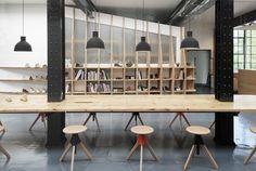 Clarks Originals design studio par ARRO - Blog Esprit Design