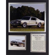 Legends Never Die 1968 Ford Shel Mustang GT500KR Framed Memorabilia