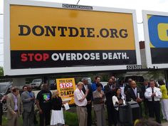 The billboard advertising dontdie.org is part of a public awareness campaign recommended by a mayoral task force report on Baltimore's heroin task force. Pinned by the You Are Linked to Resources for Families of People with Substance Use  Disorder cell phone / tablet app July 16, 2015;      Android https://play.google.com/store/apps/details?id=com.thousandcodes.urlinked.lite   iPhone -  https://itunes.apple.com/us/app/you-are-linked-to-resources/id743245884?mt=8com
