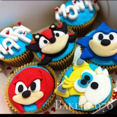 sonic cupcake toppers – Etsy