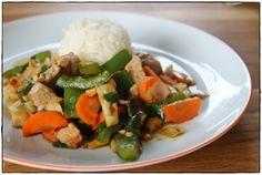 Chicken Wok (Hühner Wok)