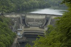 Chastang Dam Water Dam, La Dordogne, Public, My Point Of View, Thesis, Engineering, Chicago, Skyline, Industrial