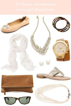 10 classic accessories every girl should own