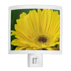 Yellow Gerber Daisy Night Light from Florals by Fred #zazzle #gift #photogift