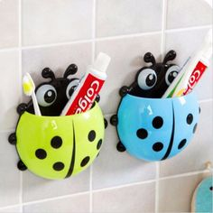 Cute Ladybug Toothbrush Holder | Daisy Dress for Less | Women's Dresses & Accessories