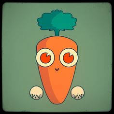 Fruitcraft app character: carot | Flickr - Photo Sharing!