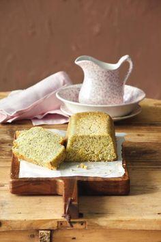 Κέικ με παπαρουνόσπορο και σιρόπι λεμονιού