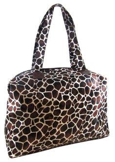 New Large Fashion Micro Tote Hand Bag for Women Giraffe Print