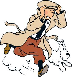 The adventures of Tintin is a popular series of comic strips created by the Belgian cartoonist Hergé. Read more about Tintin here. Asterix Y Obelix, Herge Tintin, Bd Art, Comic Art, Comic Books, Ligne Claire, Caricatures, Comic Strips, Cartoon Characters